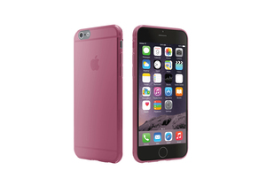 Cygnett Super Slim Tpu Case Translucent Pink iPhone 6