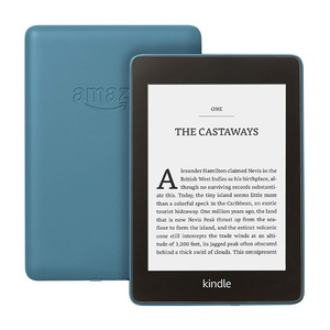 "Amazon Kindle Paperwhite 6"" E-Reader 8GB Twilight Blue"