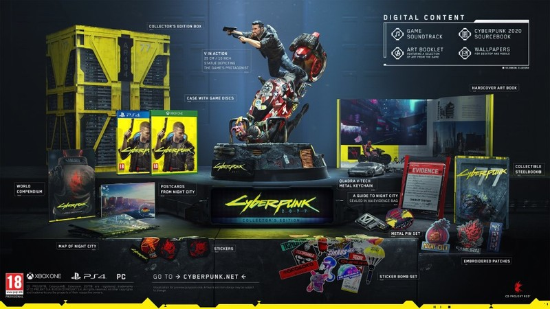Cyberpunk 2077 Collector's Edition PS4 [Pre-order]