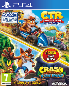 Crash Team Racing Nitro-Fueled + Crash Bandicoot N. Sane Trilogy
