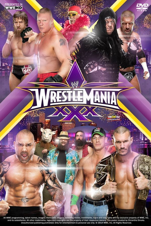 WWE WrestleMania XXX