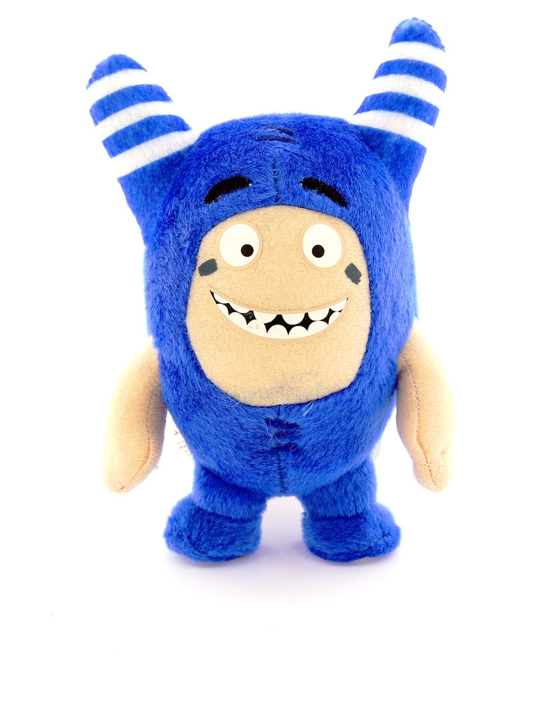 Toy Store Near Me >> Oddbods Pogo 12cm Plush Toy   Soft Toys & Plushes   Toys   Gifts & Toys   Virgin Megastore