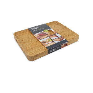 Joseph Joseph Cut & Carve Bamboo Multi-Function Chopping Board