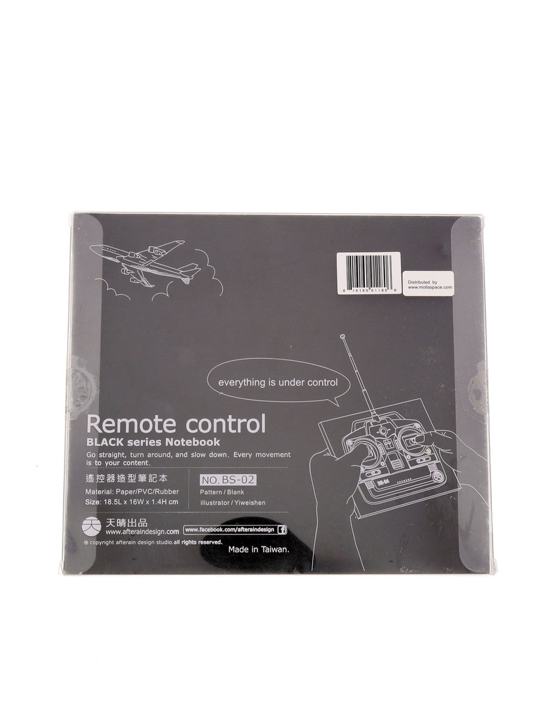 Molla Black Notebook Remote Controller