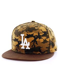 New Era Camo Team Fitted LA Dodgers Desert Camo Cap