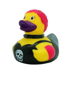Lilalu Punk Rubber Duck