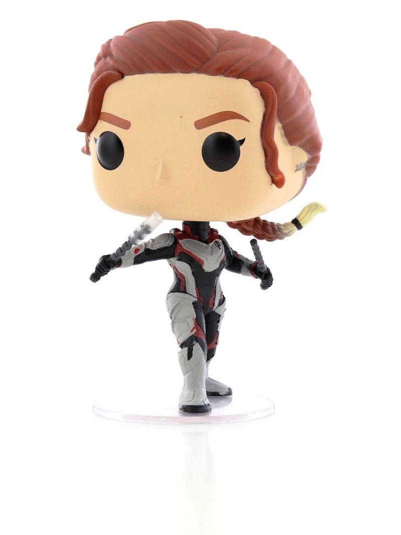Pop Avengers End Game Black Widow Team Suit Vinyl Figure Figures Statues Grown Up Toys Toys Virgin Megastore