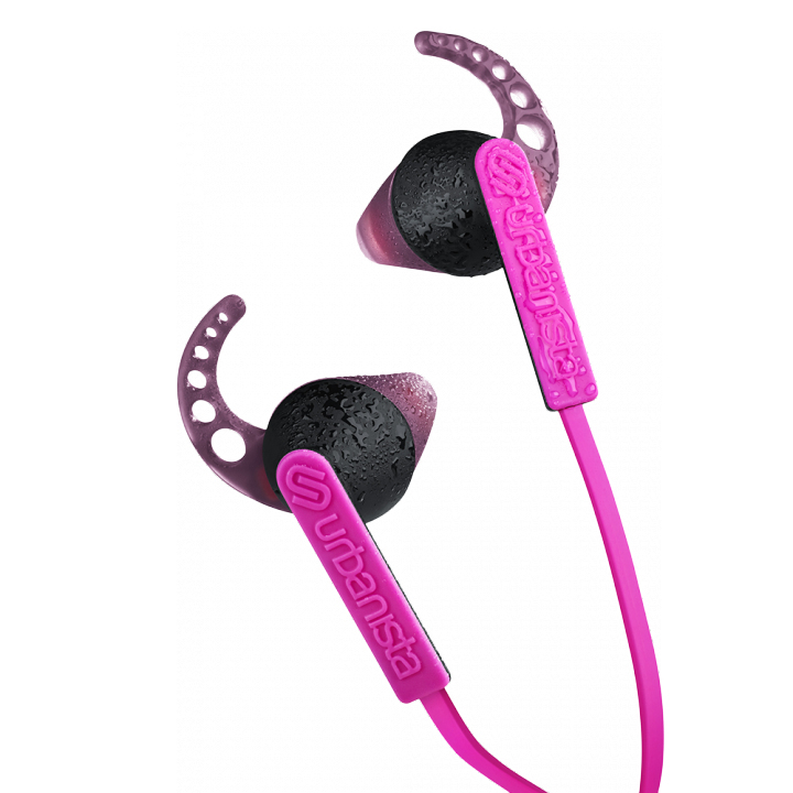 Urbanista Rio Pink Panther Pink In-Ear Earphones