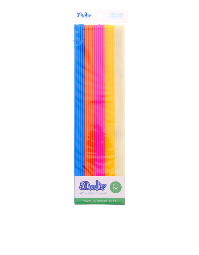 3Doodler Pla Pack Mix Color Boogie Nights