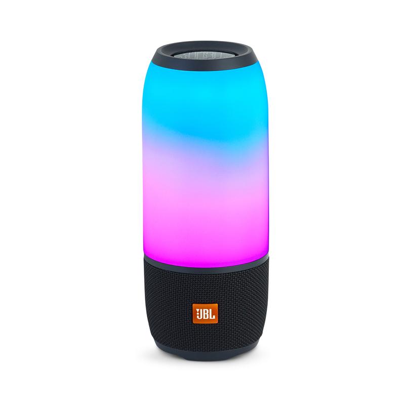 Jbl pulse 3 black waterproof bluetooth speaker speakers for Housse jbl pulse 3