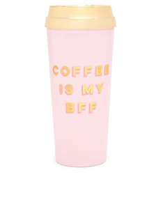 Ban.do Deluxe Hot Stuff Thermal Mug Coffee Is My BFF