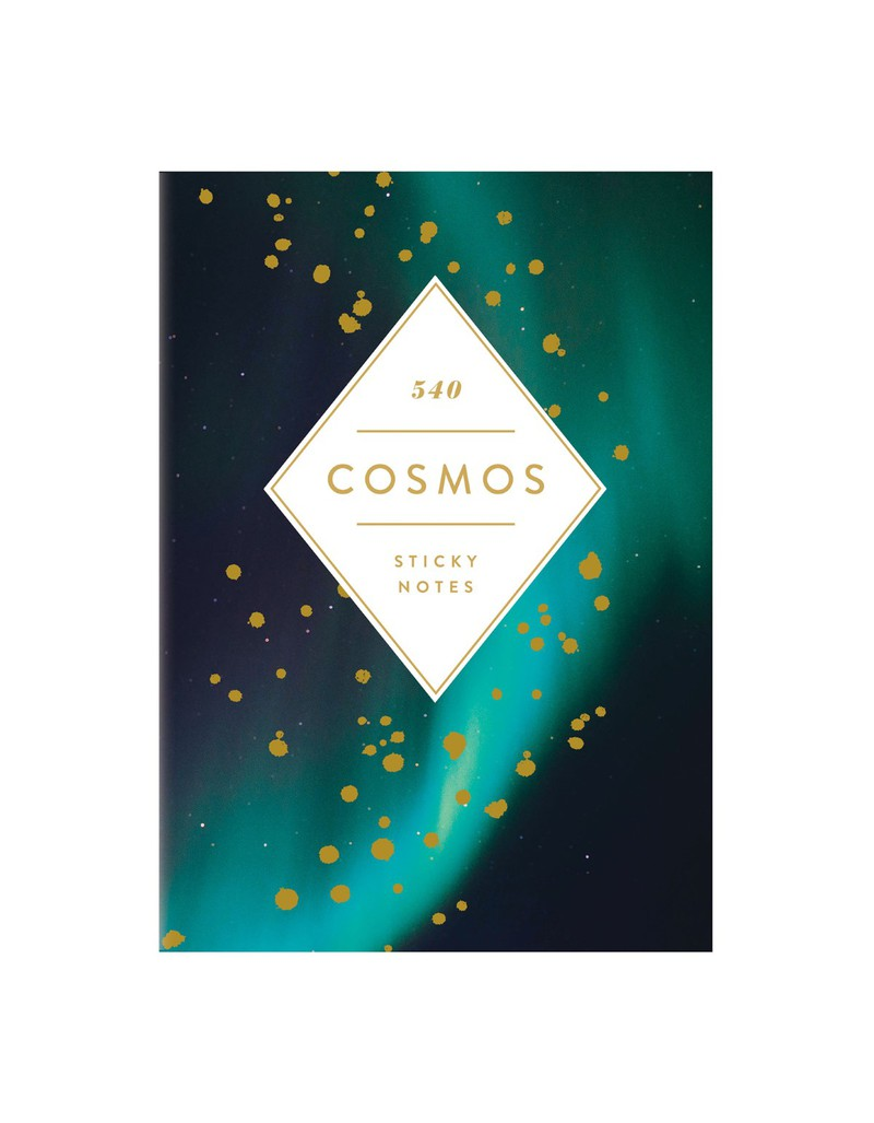 Galison Cosmos Sticky Notes Hardcover Book
