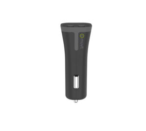 Muvit 2 USB 3.4A Black Car Charger