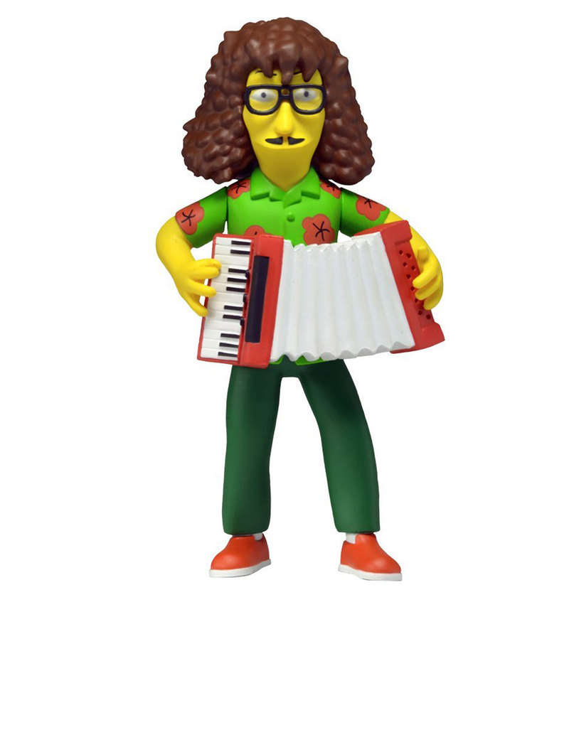 Grown Up Toys : Neca simpsons th anniversary weird al figure figures