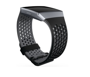 Fitbit Sport Band Black/Grey Large For Ionic