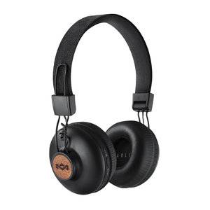 The House Of Marley Positive Vibration 2 Wirelees Signature Black Bluetooth On-Ear Headphone
