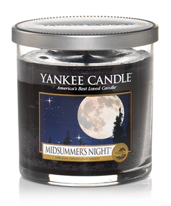 Yankee Candle Decor Small Pillar Midsummer Night