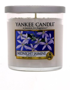 YANKEE CANDLE DECOR SMALL PILLAR MIDNIGHT JASMINE