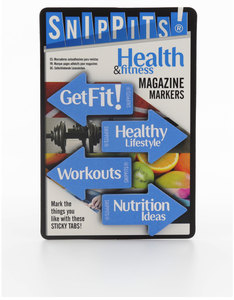 Snippits Magazine Page Markers Health And Fitness
