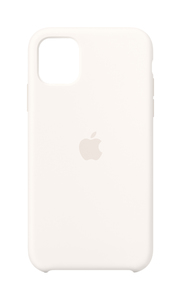 Apple Silicone Case White for iPhone 11