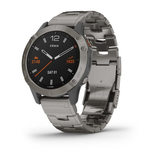 Garmin Fenix 6 Sapphire 47mm Titanium Grey with Titanium Band Smart Watch