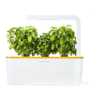 Click & Grow Smart Herb Garden W/Lamp Orange