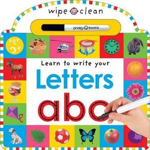 Wipe Clean Learning Letters