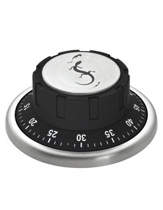 Lurch Kitchen Timer W/Magnet Black
