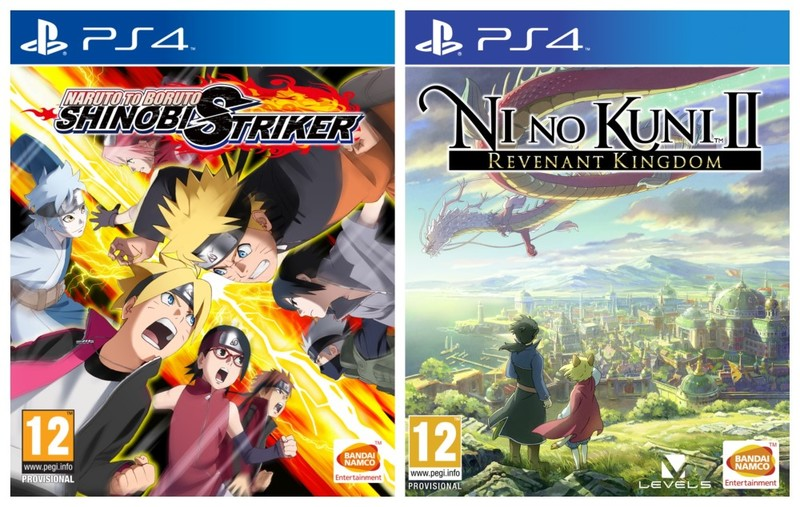 Naruto to Boruto: Shinobi Striker + Ni no Kuni II: REVENANT KINGDOM