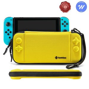 tomtoc Slim Hard Case Yellow for Nintendo Switch