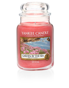 Yankee Candle Red Classic Jar Large Garden By Sea
