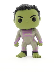 Funko Pop Avengers Endgame Hulk Purple Suit Vinyl Figure