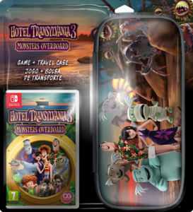 Hotel Transylvania 3 Monsters Overboard - With Case - Nintendo Switch