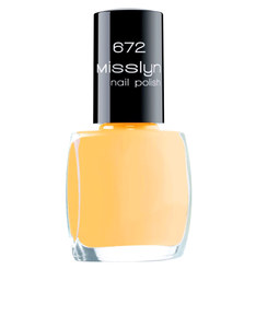 Misslyn Nail Polish No.672 Yellow Button