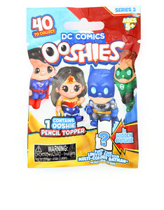 Ooshies DC Comics: Series 2 Pencil Toppers [Mystery Pack]