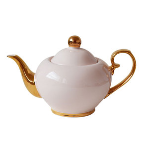 Bombay Duck Smitten Tea Pot Pink & Gold