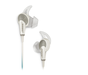 Bose Quitecomfort 20 White Headphones [For Android Devices]