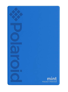 Polaroid Mint Instant Digital Pocket Printer Blue [For iOS and Android]