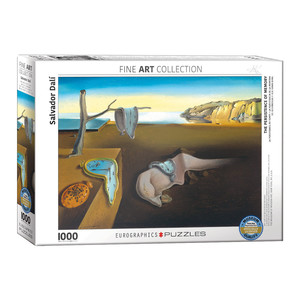 Eurographics The Persistence Of Memory by Salvador Dali Jigsaw Puzzle [1000 Piece]