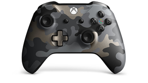 Microsoft Night Ops Camo Special Edition Controller for Xbox One