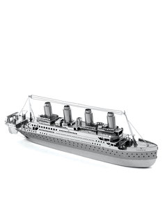 3D Metal World Titanic 2 Sheets