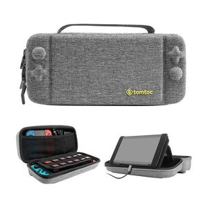 Tomtoc Hard Shell Travel Case Grey for Nintendo Switch