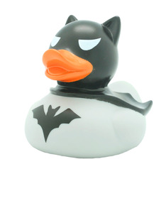 Lilalu Dark Duck Rubber Duck