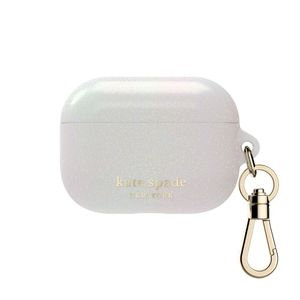 Kate Spade New York White Glitter Case for AirPods Pro