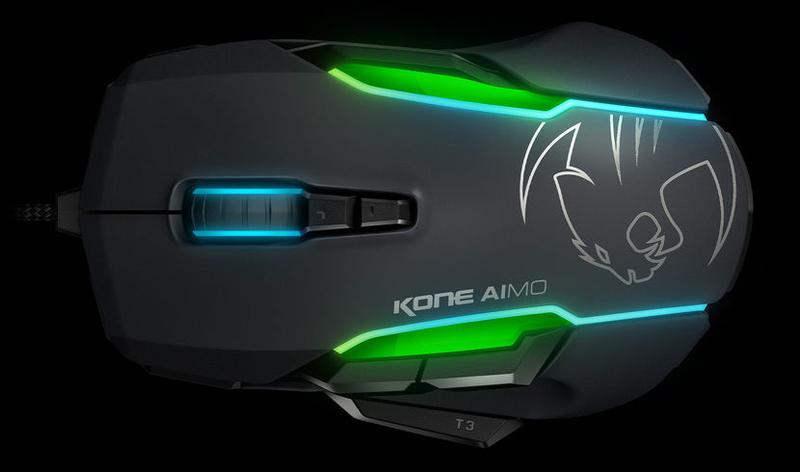 ROCCAT Kone AIMO Black RGBA Smart Customization Gaming Mouse