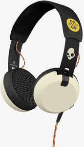 Skullcandy Grind Atg/Black/Cream W/Mic Headphones