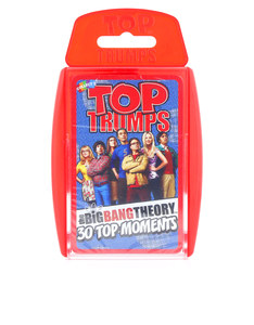 TOP TRUMPS BIG BANG THEORY CARD GAME ENGLISH & ARABIC