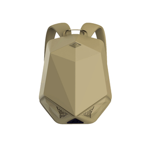 BRAVE BLUETOOTH SPEAKER BACKPACK WITH 5000MAH POWER BANK NYLON BEIGE