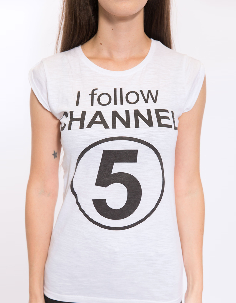 Life Is A Circus I Follow Channell Nera White Womens M