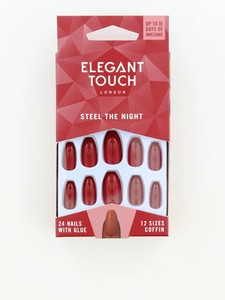 Elegant Touch Trend Colournails Steel The Night